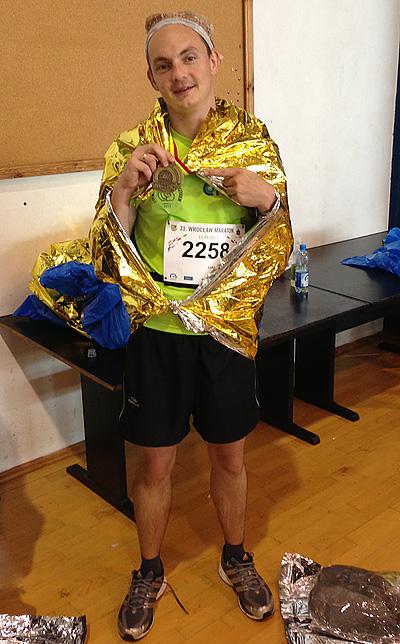 wrocław maraton po ukończeniu