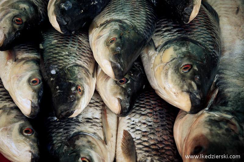 lokalny targ w bagan ryby