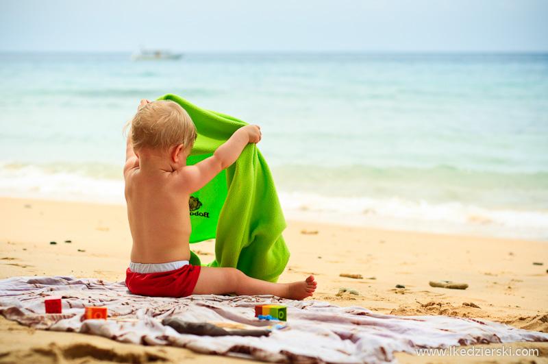 nadia na plaży