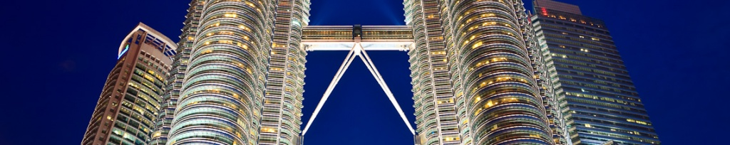 panorama petronas towers
