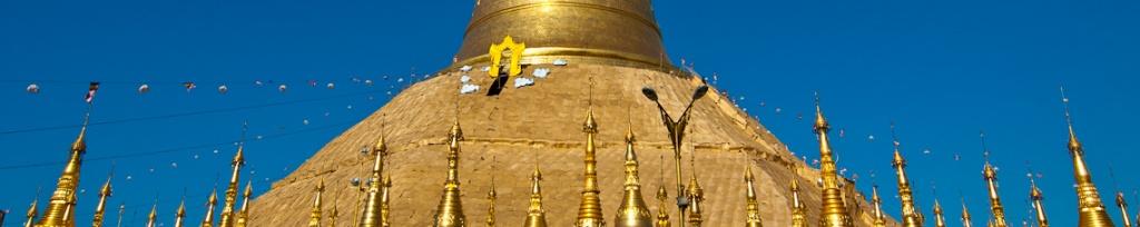 panorama shwedagon pagoda