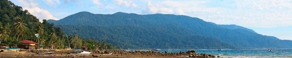 panorama wyspa tioman