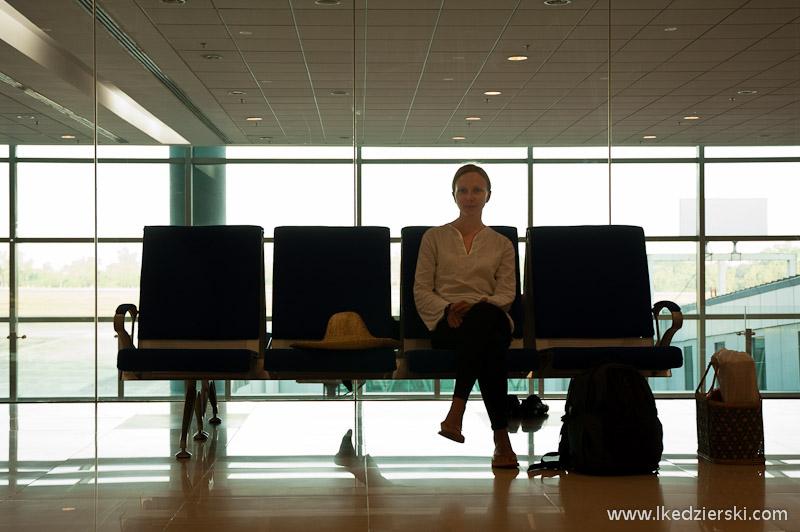 birma lotnisko w rangunie