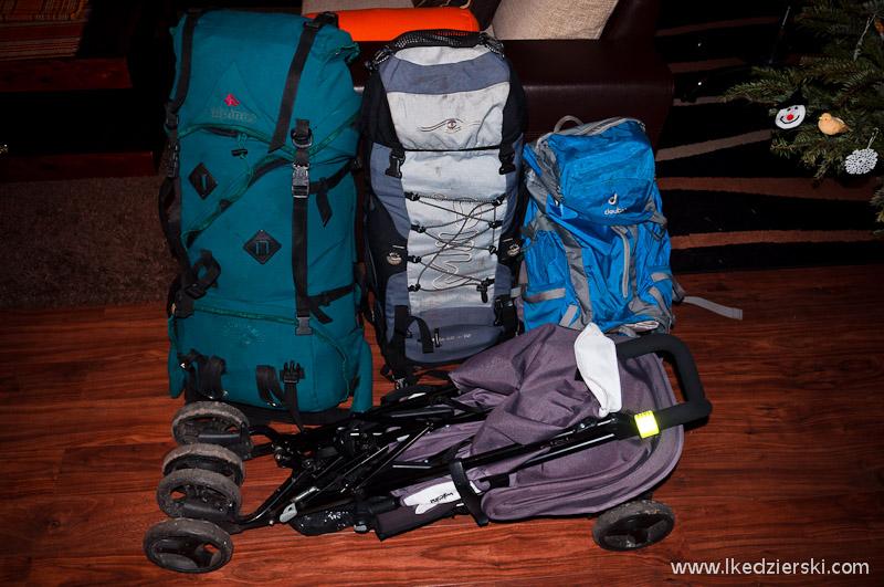 pakowanie plecaków