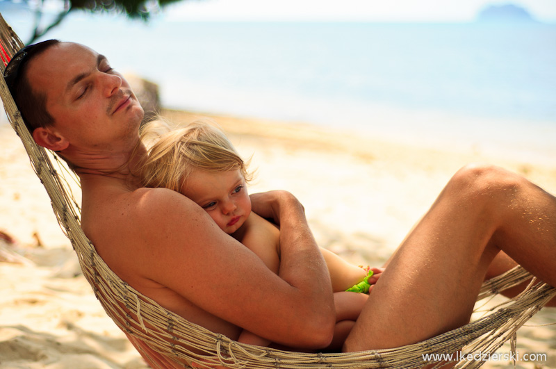 kai bae beach nadia w podróży hamak