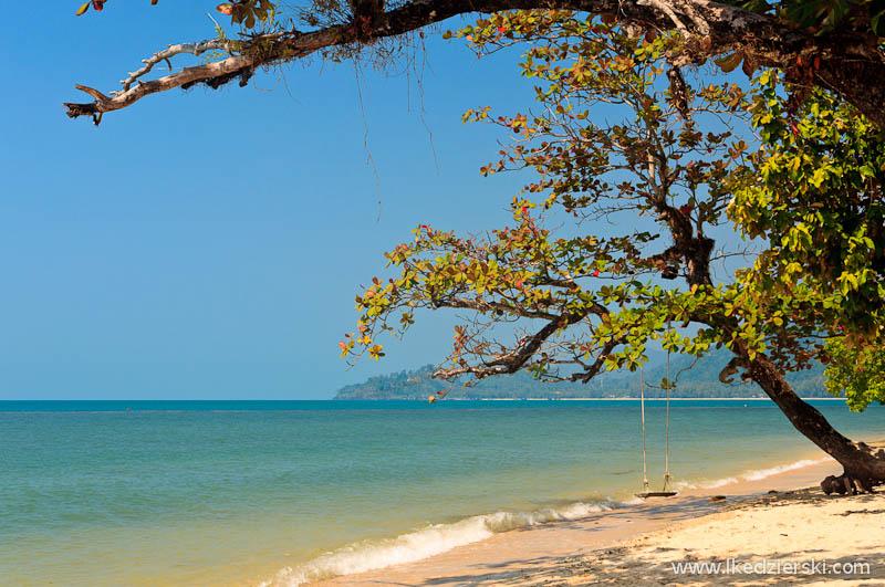 tajlandia koh chang plaża