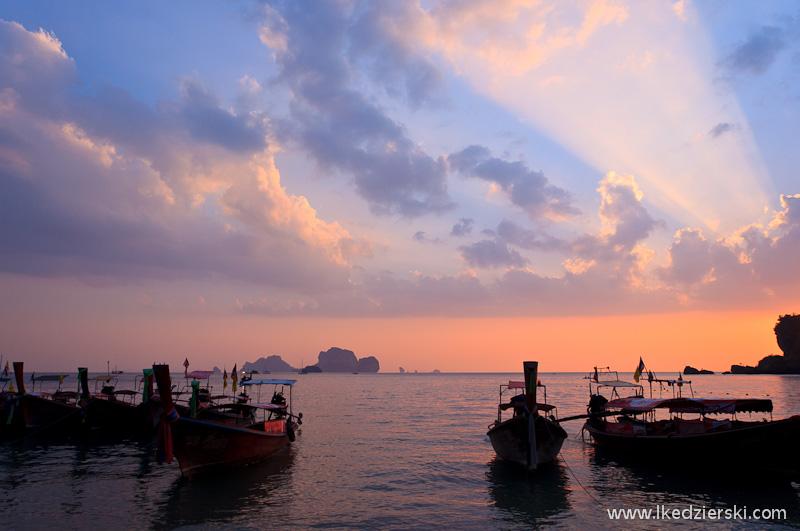tajlandia ton sai sunset