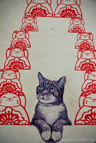 murale w georgetown asa fortune cat