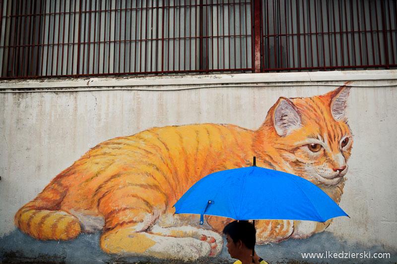 asa giant cat mural