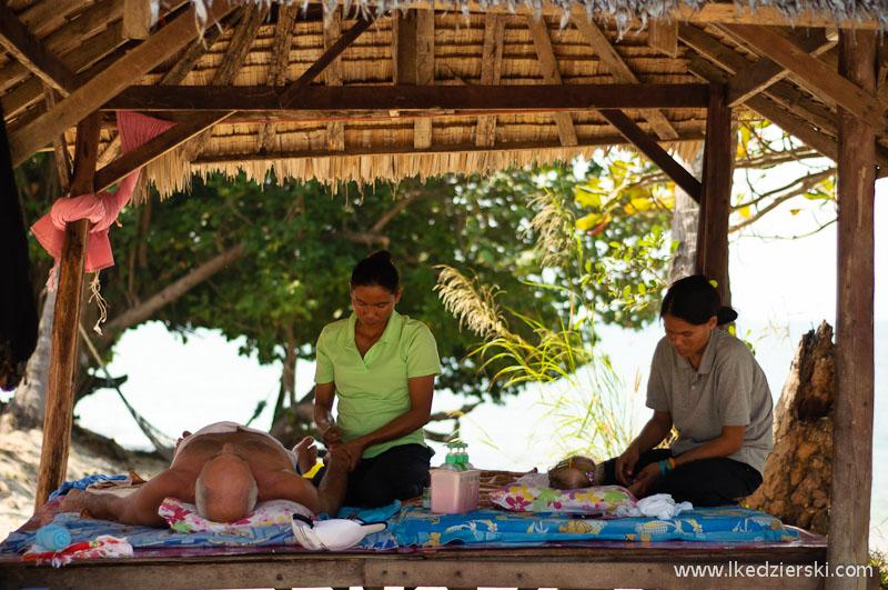 tajlandia masaż na plaży