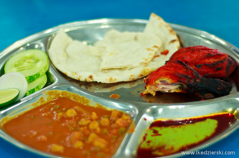 jedzenie w malezji kurczak tandoori