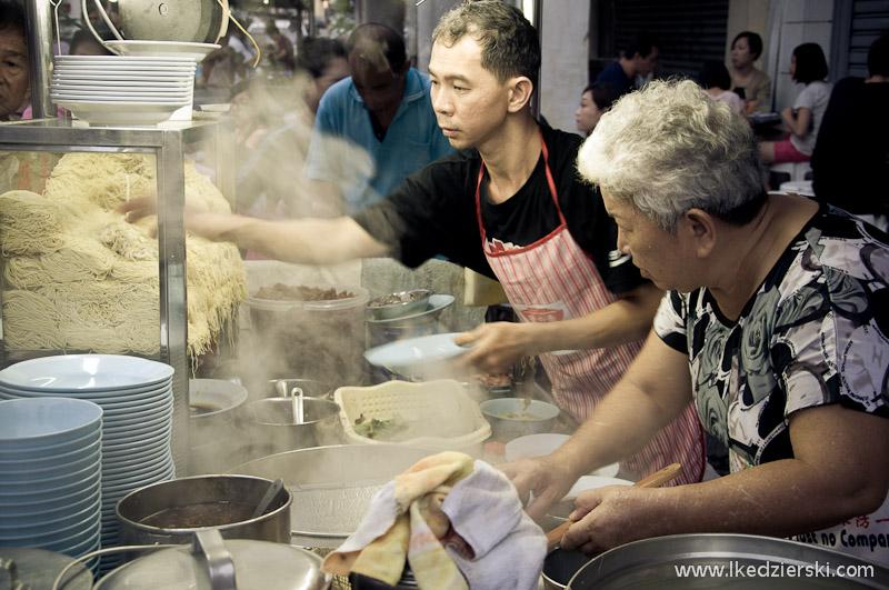 uliczne jedzenie w malezji