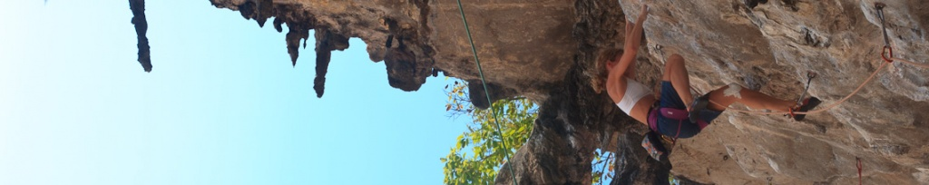 panorama railay tonsai climbing