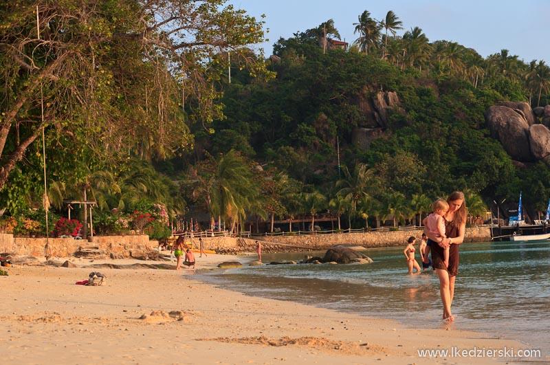 tajlandia koh tao plaża