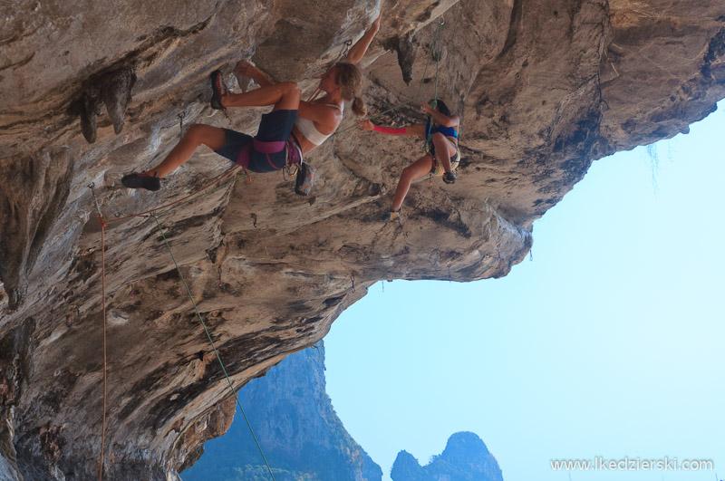 railay tonsai climbing