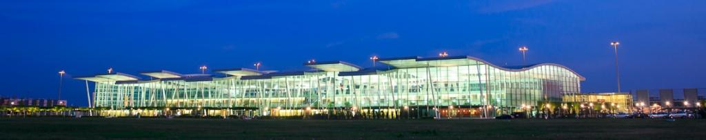 panorama wrocławski port lotniczy