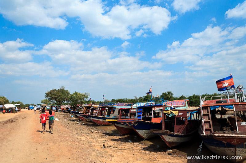 kampong phluk łodzie