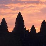 Angkor Wat o wschodzie słońca…