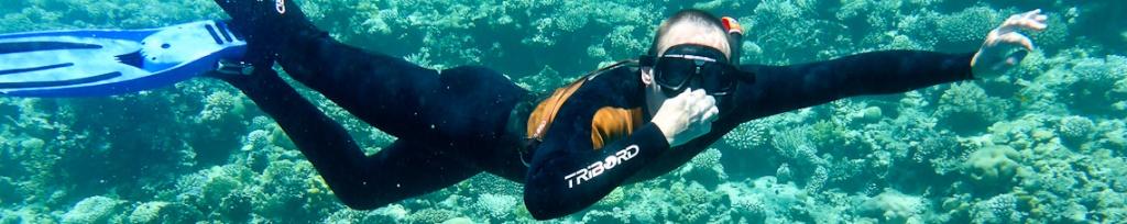 panorama snorkeling w egipcie
