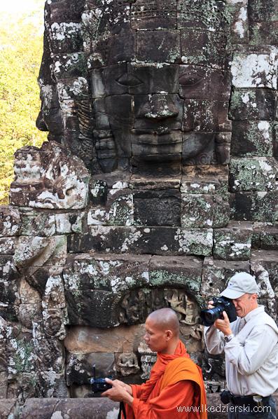 angkor thom fotograf w akcji