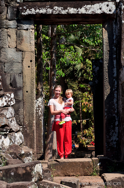 angkor thom nadia w podróży