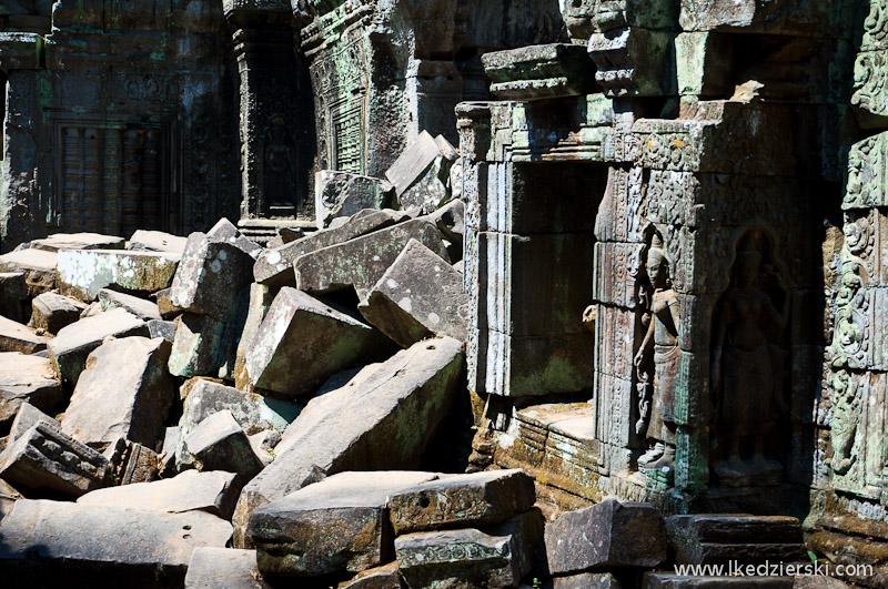 ta prohm temple kamienie