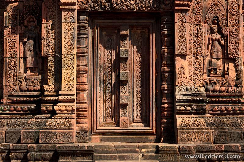 kambodża świątynia drzwi