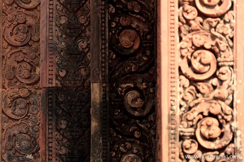 kambodża świątynia relief