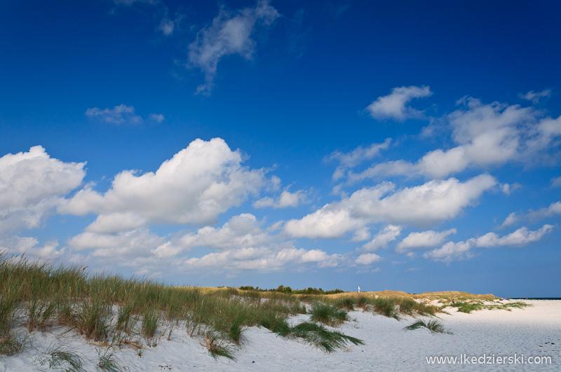 bornholm plaża dueodde