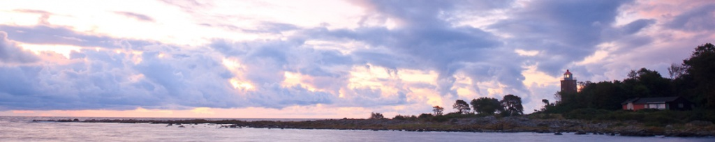 panorama bornholm sunrise