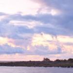 Bornholm o wschodzie słońca
