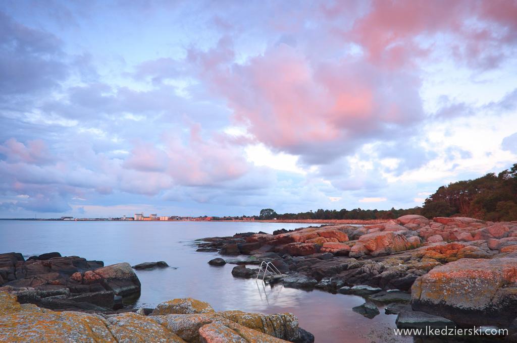 bornholm sunrise photo wschód słońca