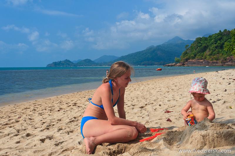plaża kai bae beach babki z piasku