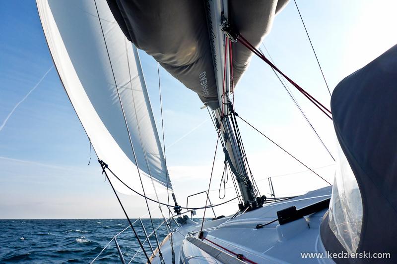 żeglowanie po bałtyku jacht