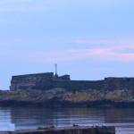 Christiansø o wschodzie słońca