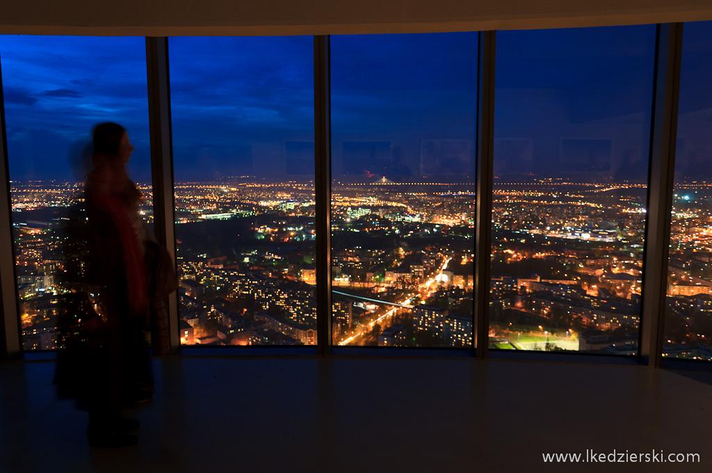 sky tower taras widokowy sunset