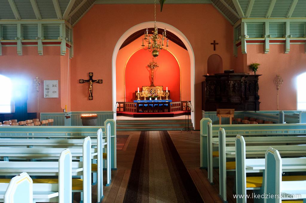 allinge photo church inside