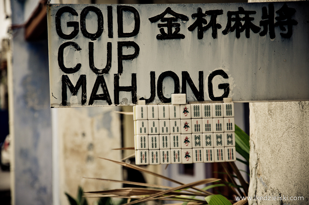 mahjong szyld