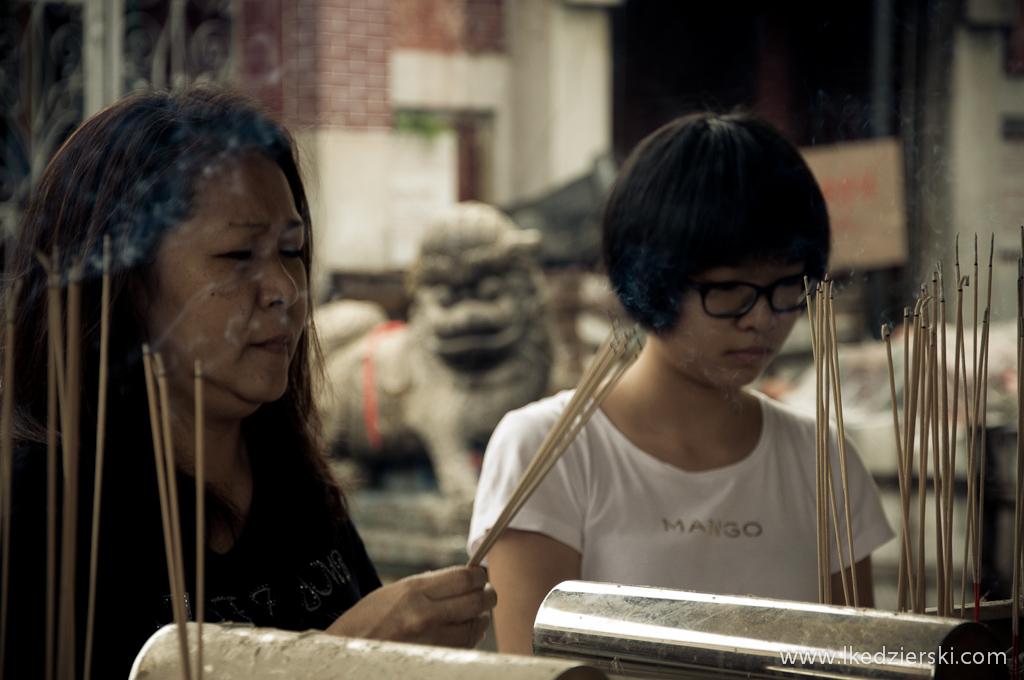 W jednej z chińskich świątyń...