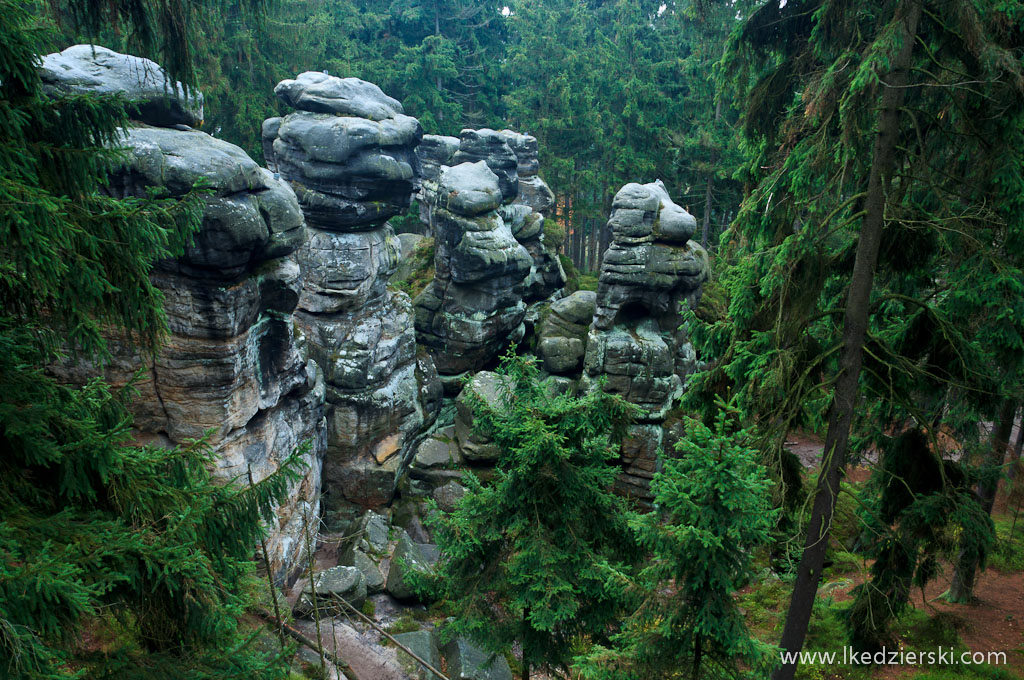 Horní labyrint skalne miasto zdjęcia
