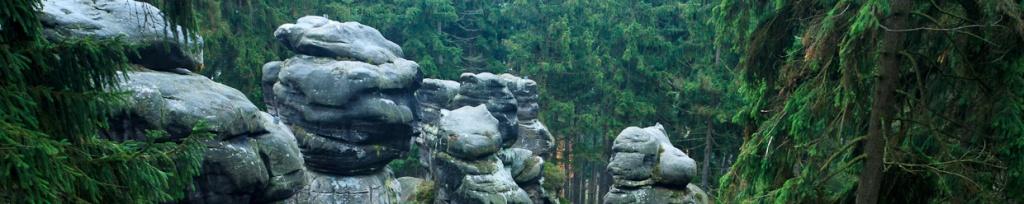 panorama horni labirynt skalne miasto