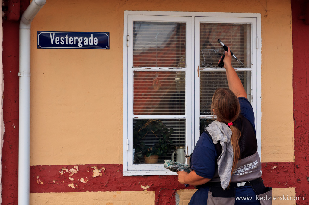 svaneke mycie okien