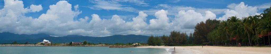 panorama plaża na langkawi