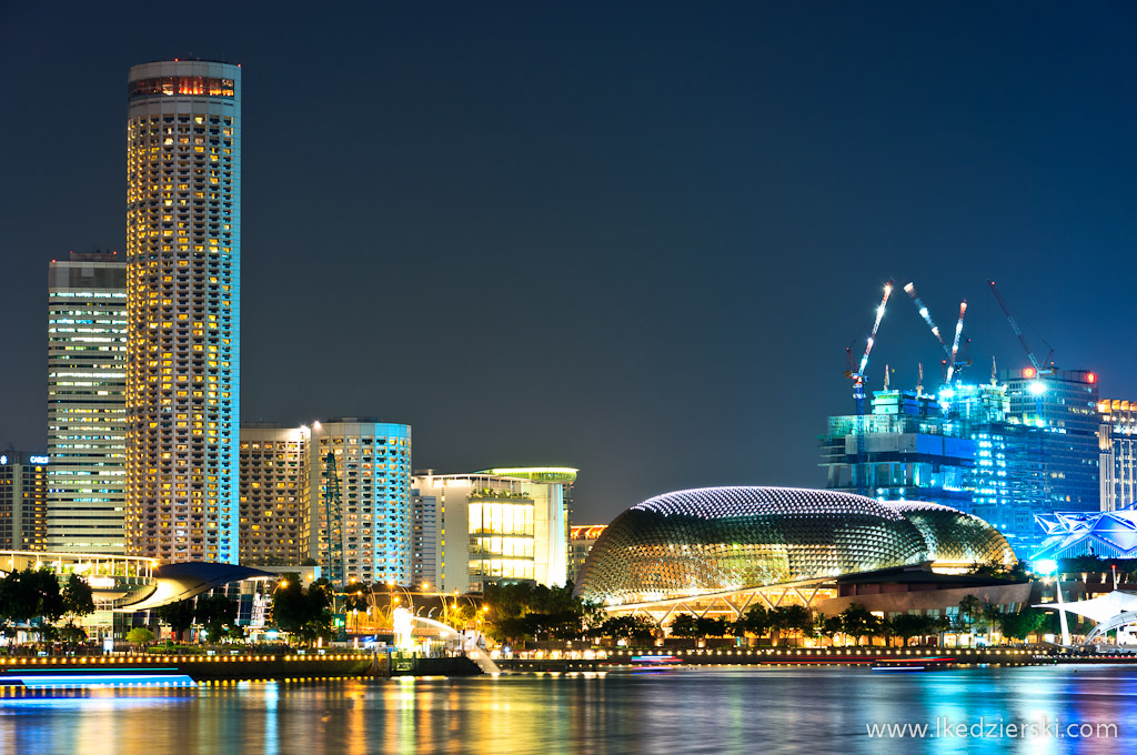 singapur by night marina bay