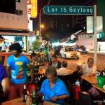 Geylang dzielnica czerwonych lampionów w Singapurze