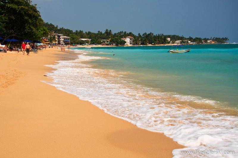 sri lanka mirissa plaża