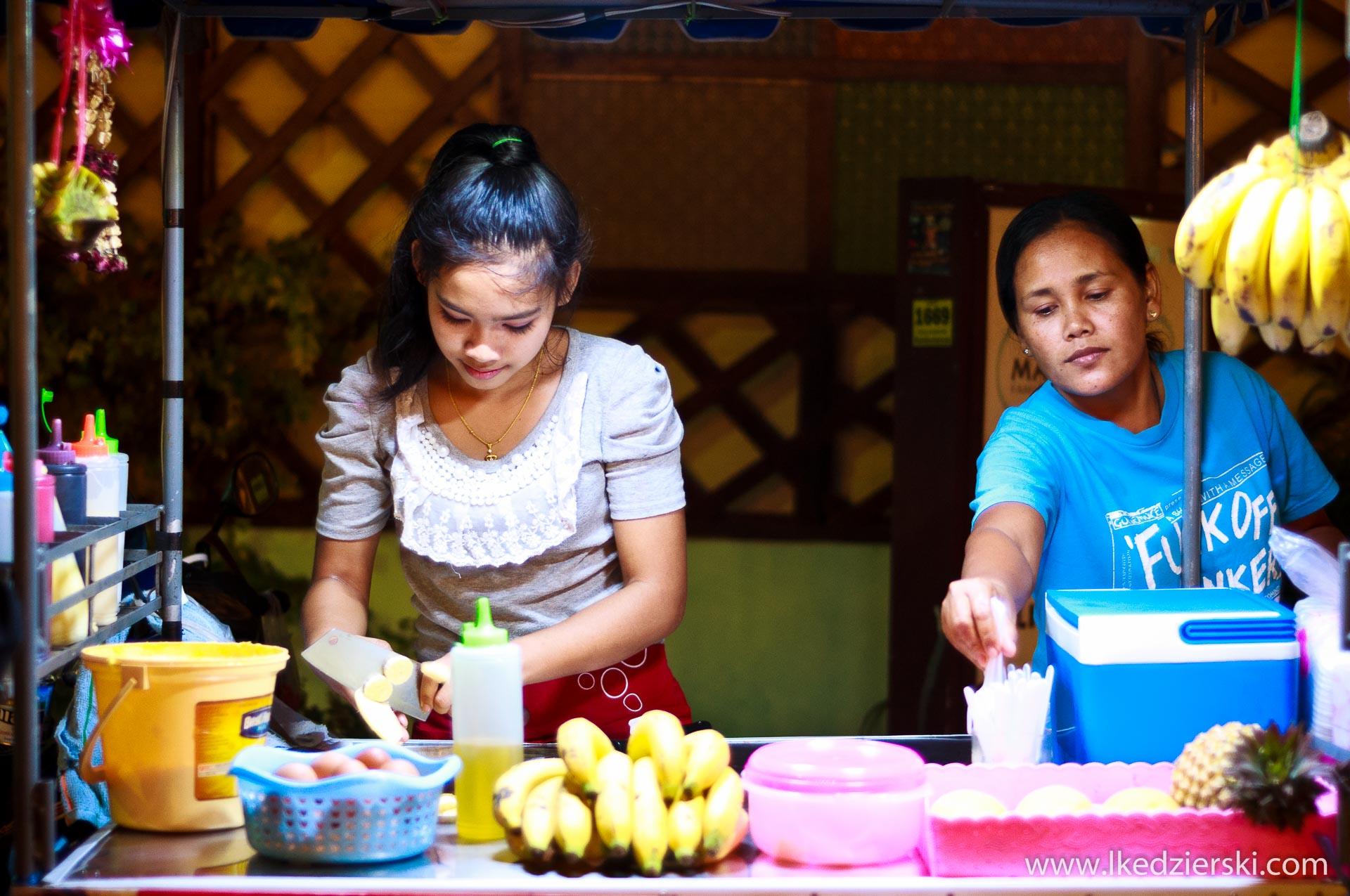 tajlandia uliczne jedzenie