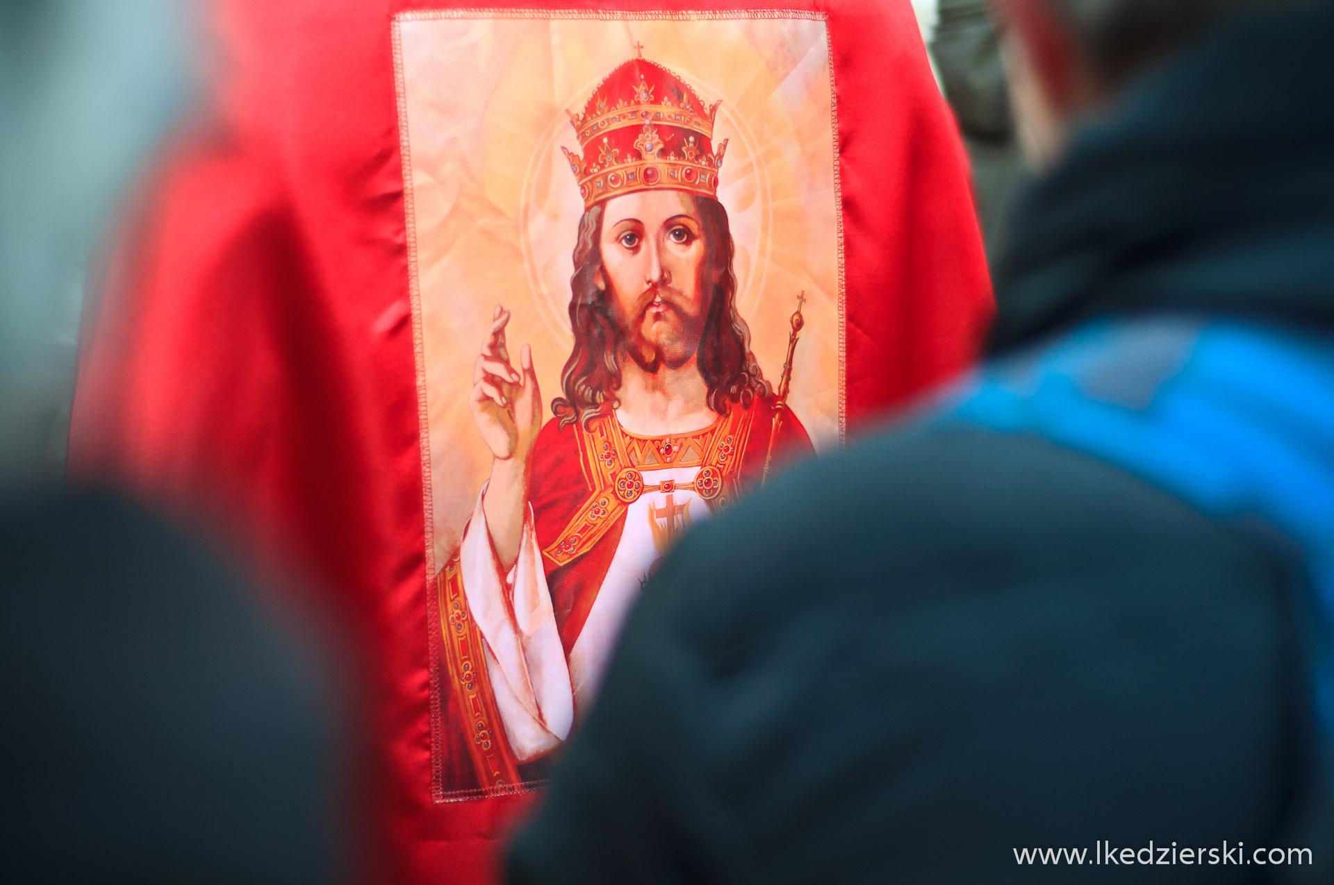 wrocław obraz Jezusa