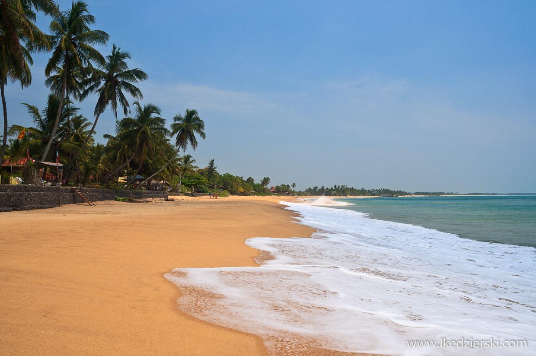 sri lanka tangalle plaża