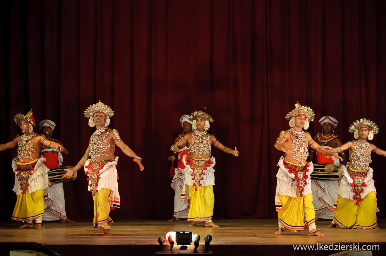 tradycyjne tańce ze Sri Lanki